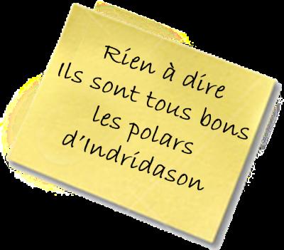 Le Lagon Noir post it