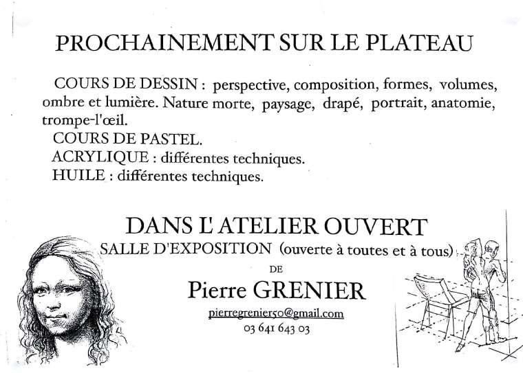 PIERRE GRENIER LAON ARTISTE
