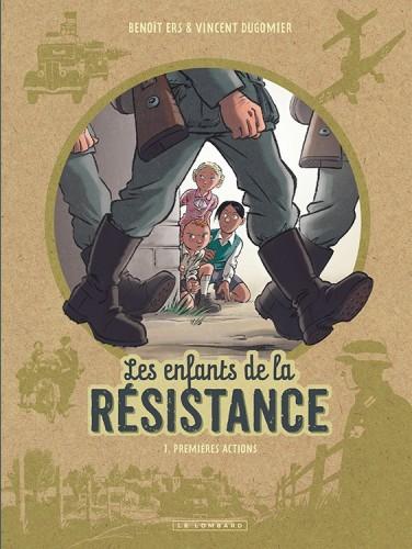 Couverture de Les enfants de la Résistance -1- Premières actions