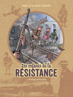 Couverture de Les enfants de la Résistance -2- Premières répressions