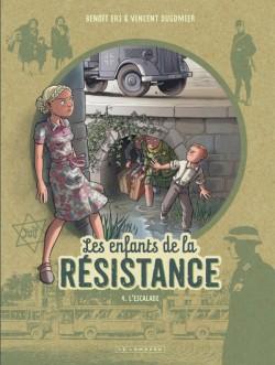 Couverture de Les enfants de la Résistance -4- L'escalade