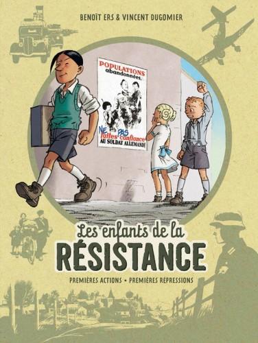 Couverture de Les enfants de la Résistance - Intégrale 1- Tomes 1 et 2